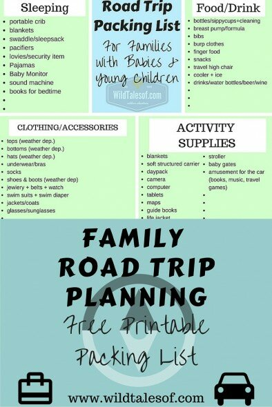 Printable List Of Items Needed For New Baby Things To Buy Road Trip High Definition Newborn  A394
