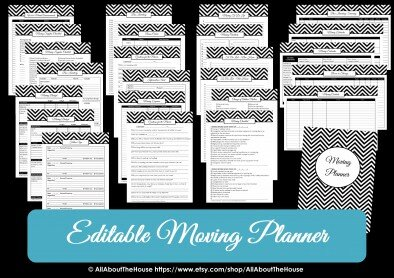 Printable Moving List To Do Allaboutthehouse Printables Ideas Checklist Planner Countdown Change Of Address  Free Lists394